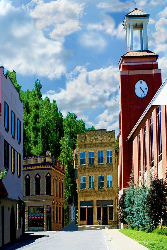 Salyersville, Kentucky, Giclee Prints on Fine Art Paper or Canvas, Custom or Framed Orders Welcome