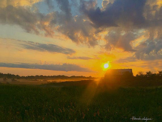 KENTUCKY MORNING Giclee Print on Fine Art Paper or Canvas, Custom and framed orders welcome