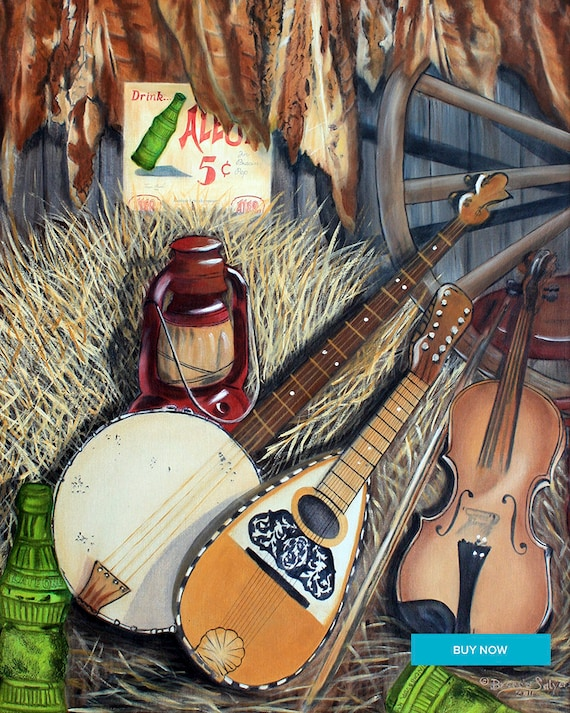 Winchester Melody Winchester Kentucky Fine Art Giclee Print on Paper Canvas or Wood by Brenda Salyers by Brenda Salyers