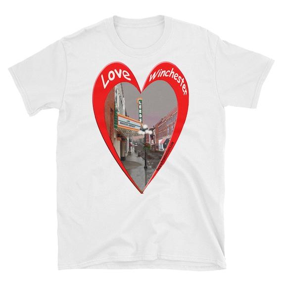 T SHIRT Love Winchester Kentucky Short-Sleeve Unisex T-Shirt