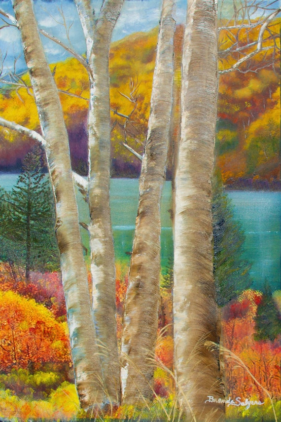 Kentuckys Cave Run Lake, Fine Art Giclee Print on Canvas or Paper
