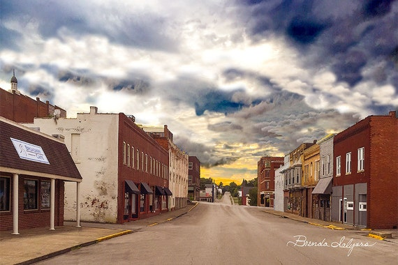 Kentucky, Winchester, E Broadway, Print on Fine Art Paper