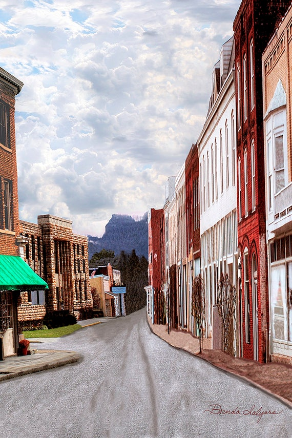 Irvine Kentucky by Brenda Salyers, Fine Art Giclee Print on Paper or Canvas, Custom Orders Welcome