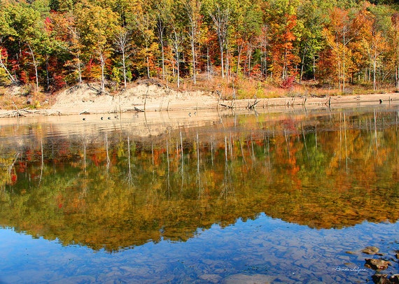 Kentucky, Cave Run Lake Morehead  Reflections, Fine Art Print on Paper or Canvas