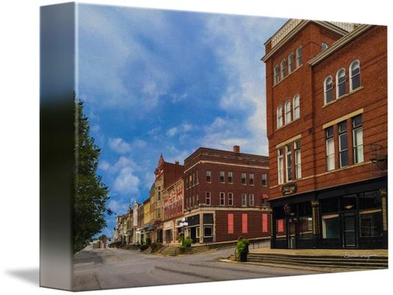 Winchester KY Main & Lexington Ave Fine Art Prints on Canvas or Paper