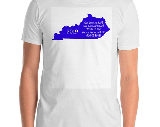 T Shirt Kentucky Go Big Blue Short-Sleeve Unisex T-Shirt