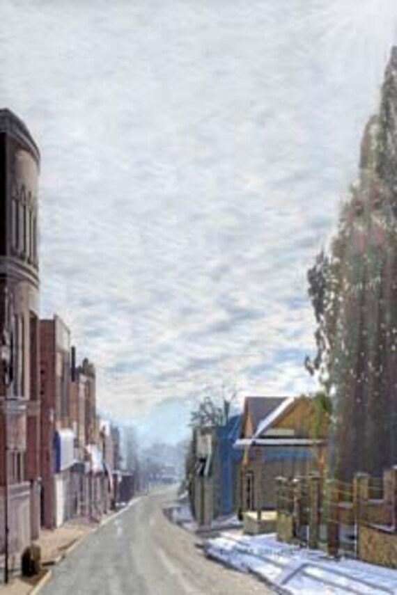 Kentucky, Grayson, Giclee Print on Fine Art Paper or Canvas