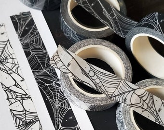 Spider Web WASHI Tape