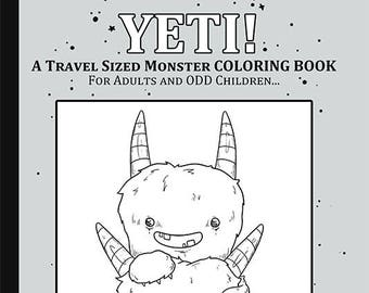 Mystic Misfits A Travel Sized Coloring Book For Magical Adults And Odd Children