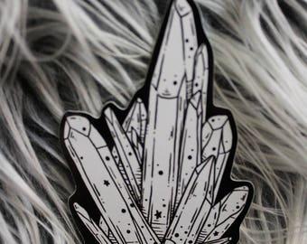 Crystal Cluster Sticker