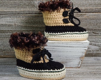Baby Hiking Boots Etsy