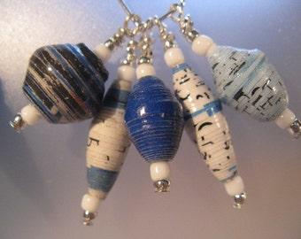 059 Bead for Life Earrings in Dutch Blues Item 059