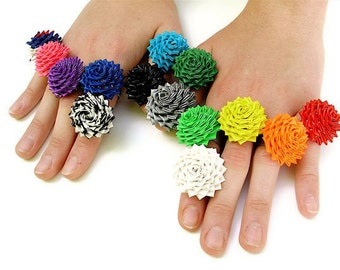 How to Make Mini Duct Tape Rose Rings - 4th Edition PDF Tutorial with Color Photos