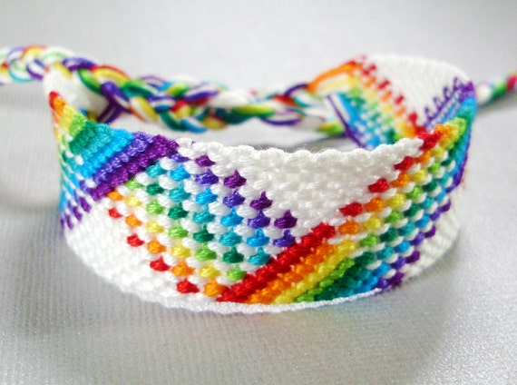 bracelet bresilien rainbow