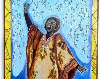 Sister Thea Bowman African American female leader Xavier University teacher gift Catholic art