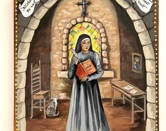 Julian of Norwich Juliana English Mystic Catholic Saint St Julian's church Anchorite hermit