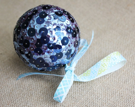 image 0 - Navy Blue Christmas Ornaments