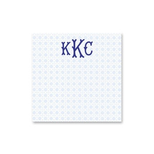 Large Square Personalized Notepads with Foo Dogs  Monogram Foo Dog Note pads