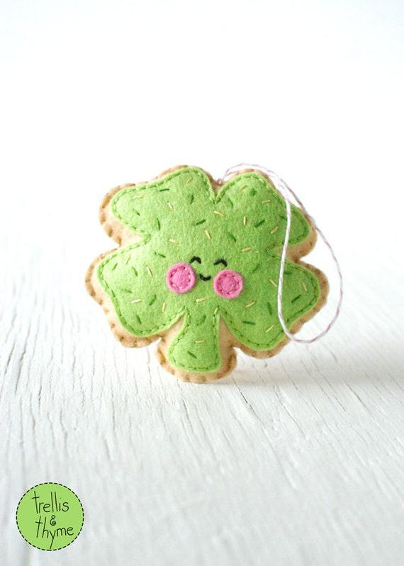 PDF patrón trébol de galleta de azúcar día de San Patrick | Etsy
