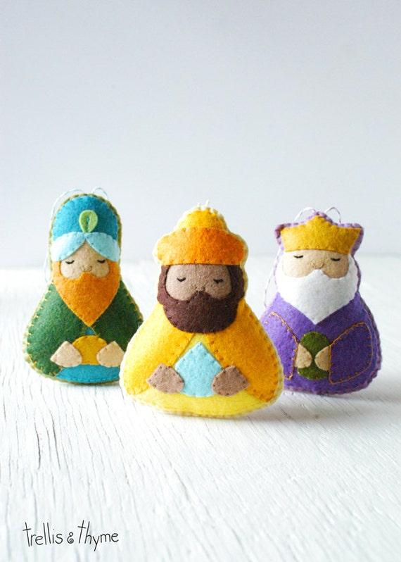 Patrón PDF magos Natividad patrón de ornamento de Reyes | Etsy