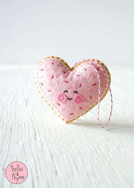 PDF el patrón corazón de galleta de azúcar día de San | Etsy