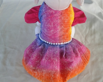 Dogs, Cats, Pets Dress - The Rainbow