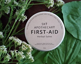 First Aid Herbal salve