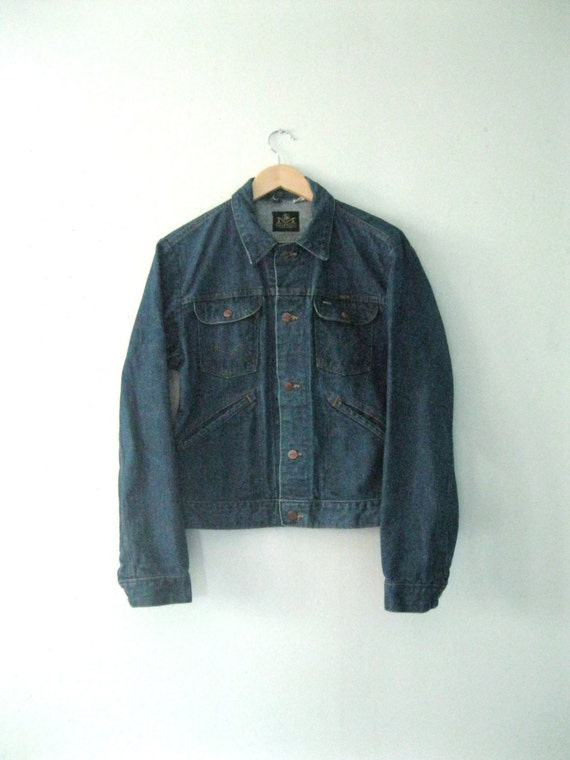 1960s Maverick denim jacket