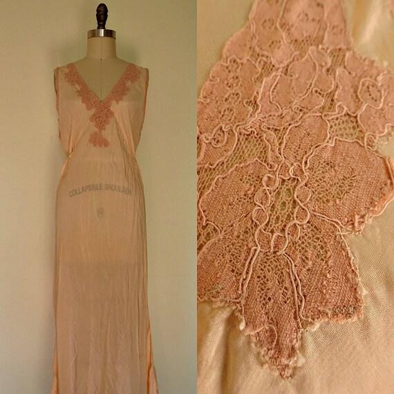 Greta 1940s slip nightdress