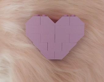Lavender - Heart Pin/Brooch