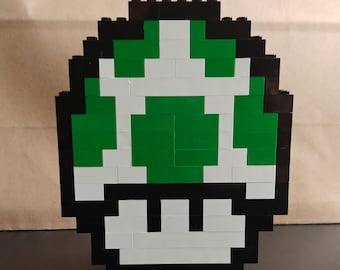 1up Mushroom Sculpture