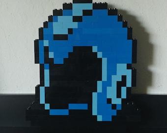 Mega Man's Helmet - Sculpture
