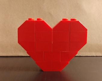 Red - Heart Pin/Brooch
