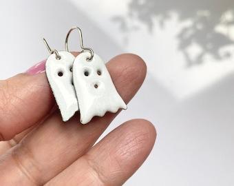 Halloween Ghost Earrings Enamel Earrings available in 16 colors