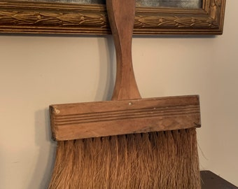 Vintage Wallpaper Brush Wooden with Handle Vintage Wall Paper Brush