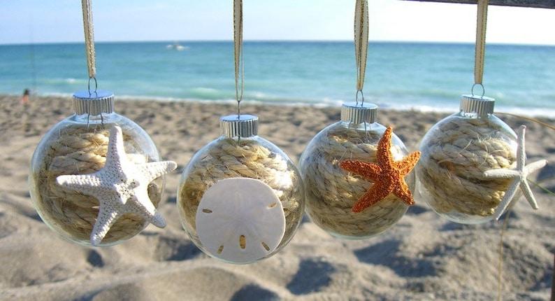 Coastal Christmas OrnamentsCoastal HolidayNautical image 0