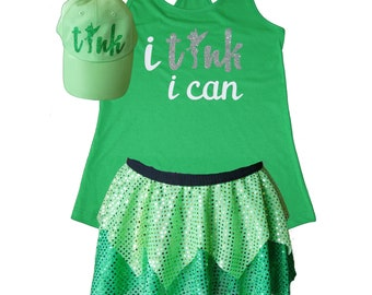 Tinkerbell Running Costume Powered by Pixie Dust Tinkerbell Costume Fairy Tale Shirt Fairy Costume Sparkle Skirt Running Skirt  sc 1 st  Etsy & Tinkerbell running | Etsy