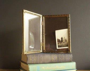 small hinged frame etsy