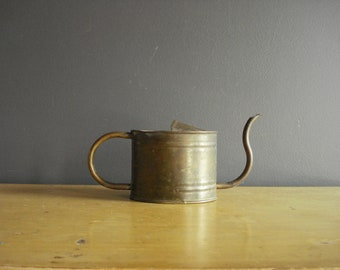 Sweet Copper Watering Can - Small Metal Watering Can - Unique Shape - English Garden Can - Made in England