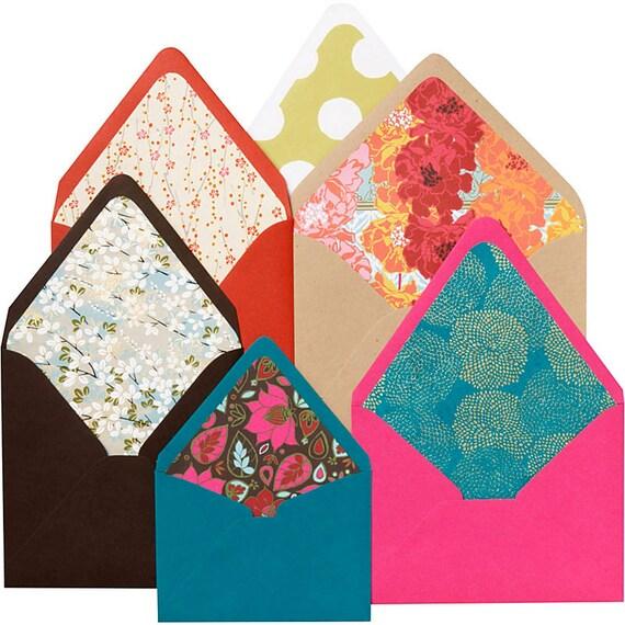 Paper Source Envelope Liner Template Kit 4 Bar A2 A6 A7