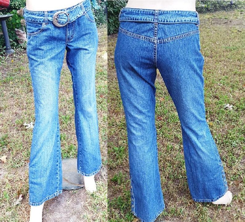 d6aecd13cd0 Femmes des années 80 Jean Jordache Jeans Vintage ceinture