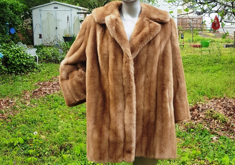 70s Fur Coat Plus Size Coat Faux Fur Coat Vegan Coat image 0