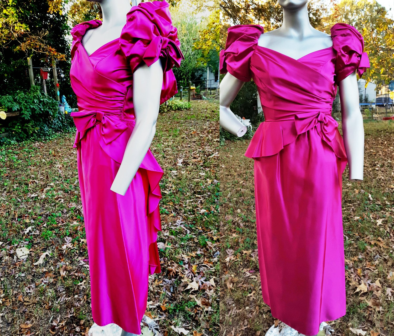 80s Bridesmaid Dress 80s Prom Dress 80s Costume Vintage