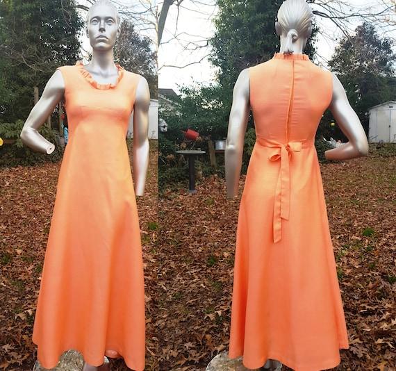 60s Sundress, Vintage Dress, Bridesmaid Dress, 60s
