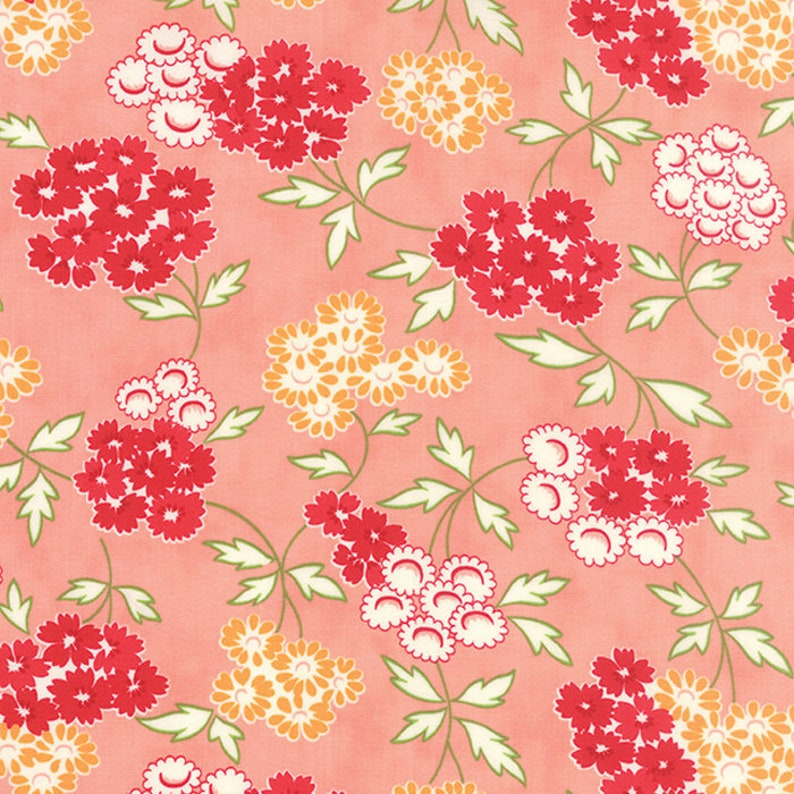 Fabric by Moda: Hello Darling by Bonnie and Camille Pink with image 0