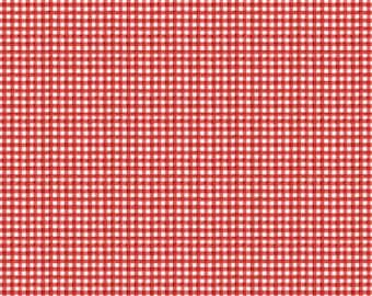 Snow Sweet Painted Gingham Red - C9666R-RED