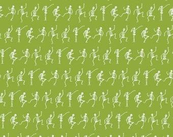 Hocus Pocus Skeletons Green C9494-Green - C9494R-GREEN