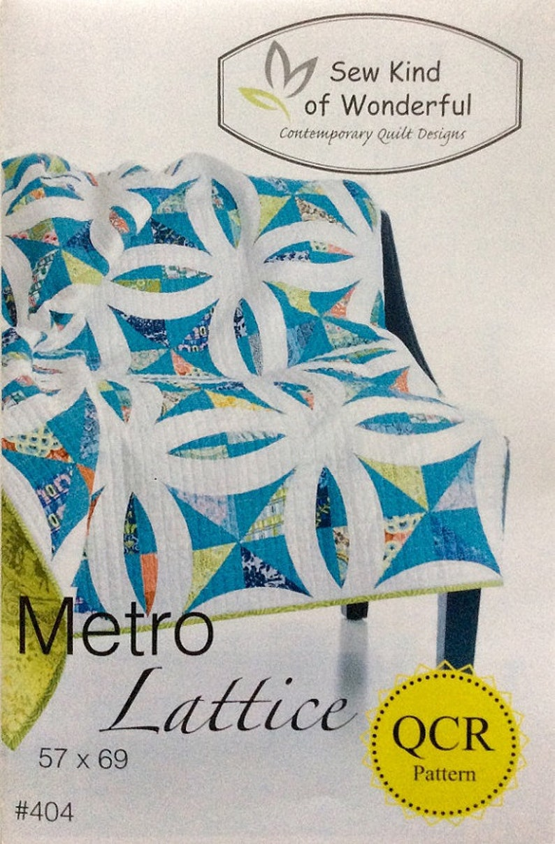 Pattern: Metro Lattice by Sew Kind of Wonderful image 0