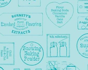Snow Sweet Vintage Ads Blue - C9673R-BLUE