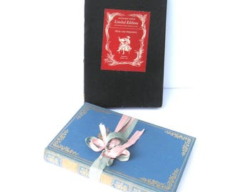 PRIDE and Prejudice By Jane Austen Doubleday, Doran & Company Very RARE 1945 Limited  Edition Robert Ball Signed, Blue and Pink Decor